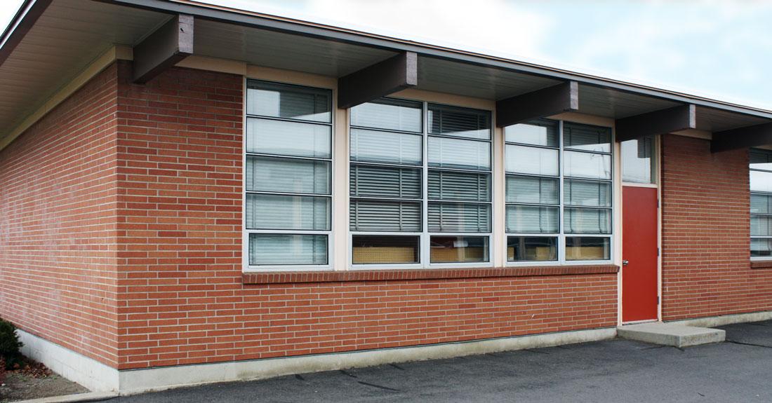 John Shaw Junior High School Mid Century Spokane