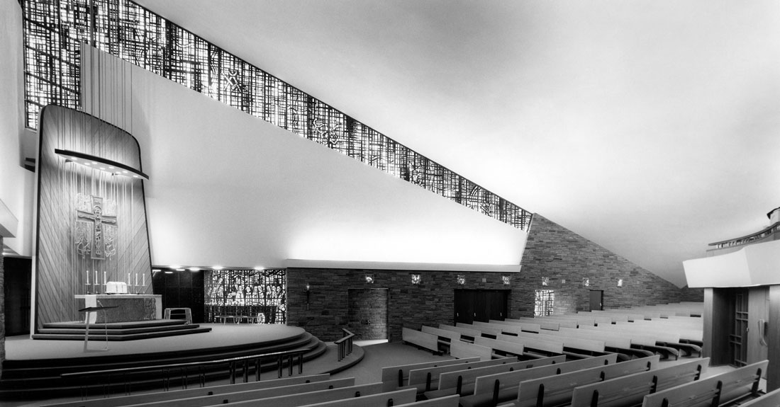 St Charles Borromeo Catholic Church Mid Century Spokane
